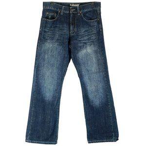 Flypaper boot cut blue jeans like new 30X30